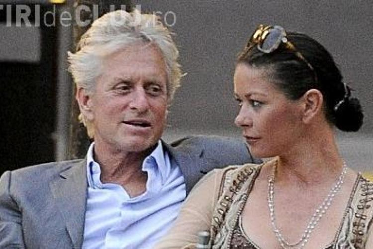 Michael Douglas are cancer la gat