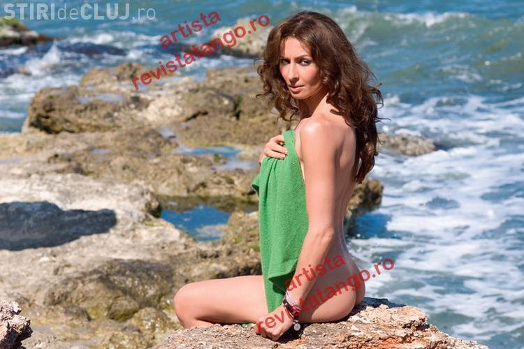 Mihaela Radulescu, goala la malul marii. Vedeta a pozat pentru o revista, la Costinesti - FOTO