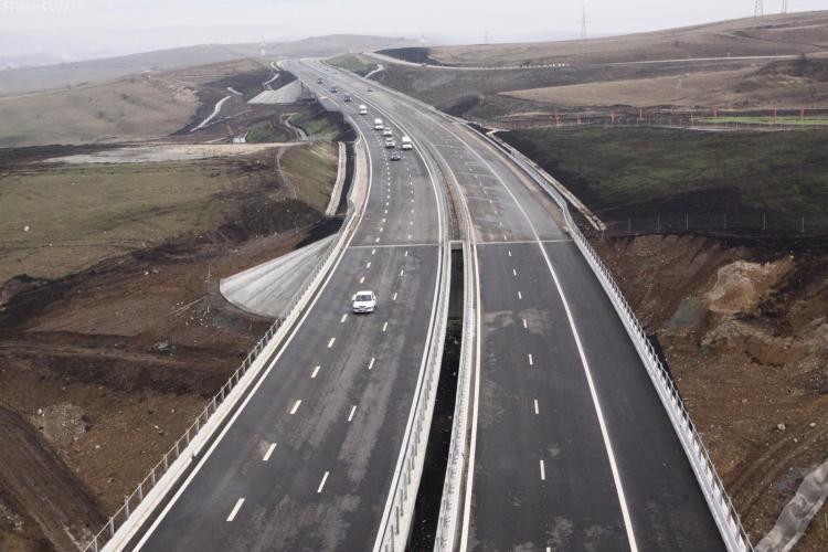 Guvernul nu a platit lucrarile la autostrada Transilvania, dar viseaza la tronsonul Gilau-Nadasel