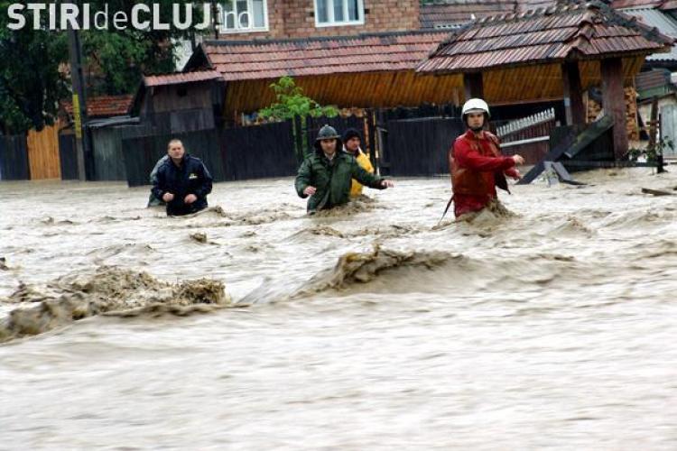 Guvernul nu a alocat nici macar 5 % din suma ceruta de judetul Cluj pentru repararea stricaciunilor facute de viituri