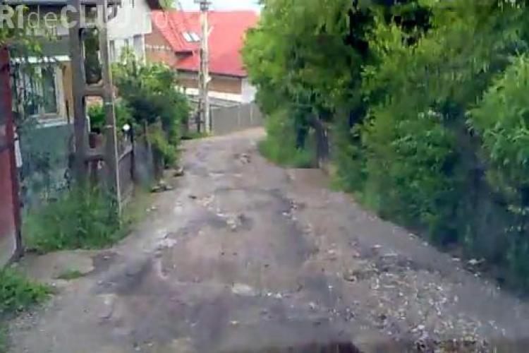 Strada Constantin Nottara,  modernizata pe jumatate. Primaria ii amageste pe clujenii care isi strica zilnic masinile - VIDEO