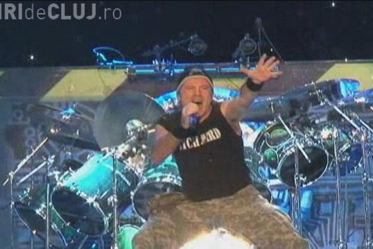 """VIDEO si FOTO - Concert Iron Maiden la Cluj! Cele mai """"tari"""" imagini din show-ul britanicilor in inima Transilvaniei!"""
