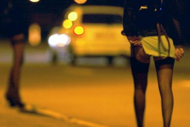 Prostituata de 21 de ani, prinsa in flagrant pe Calea Turzii