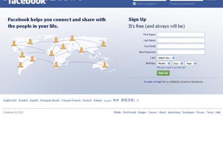 Facebook valoreaza 33,7 miliarde de dolari, mai mult decat eBay si Yahoo