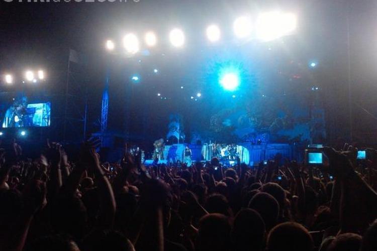 VIDEO - Concertul Iron Maiden de la Cluj a fost incendiar, dar prea scurt pentru miile de rockeri veniti din toata Europa. Voua cum vi s-a parut?