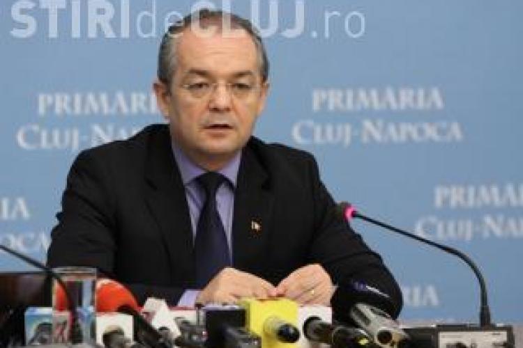 Emil Boc participă la Cluj la o acțiune a  Fundației Mișcarea Populară