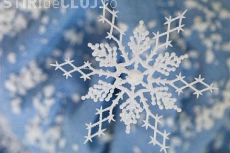 Zăpadă și temperaturi scăzute la Cluj. Vezi până când va ninge