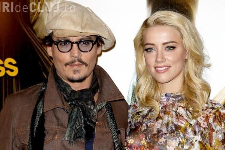 Johnny Depp se căsătoreşte cu frumoasa Amber Heard. Cineva va cânta la nuntă