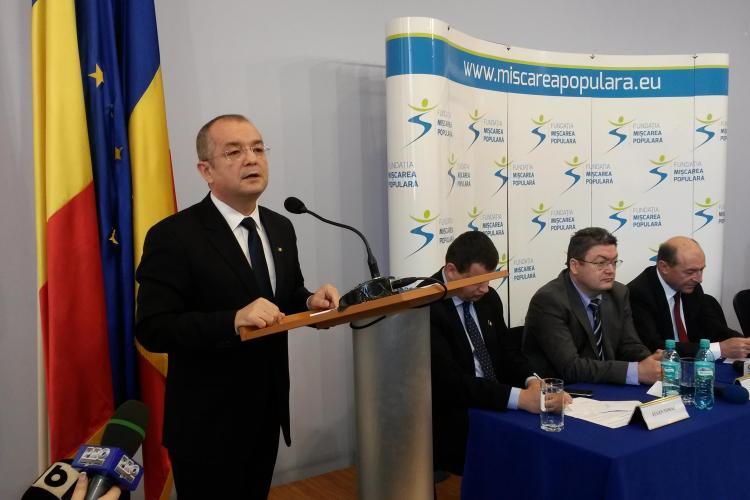 Emil Boc a intrat în Fundația Mișcarea Populară. Ce mesaj trasmite românilor? - VIDEO