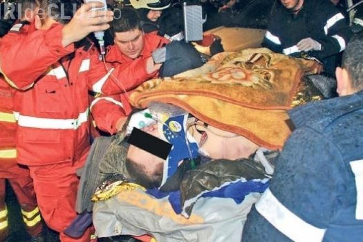 Copilotul rănit în ACCIDENTUL AVIATIC din Apuseni, operat la nas și picioare