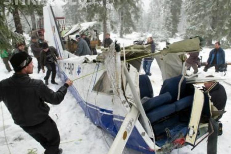 RAPORTUL Ministerului Transporturilor: ISU şi ROMATSA nu ştiau să interpreteze coordonatele avionului prăbuşit