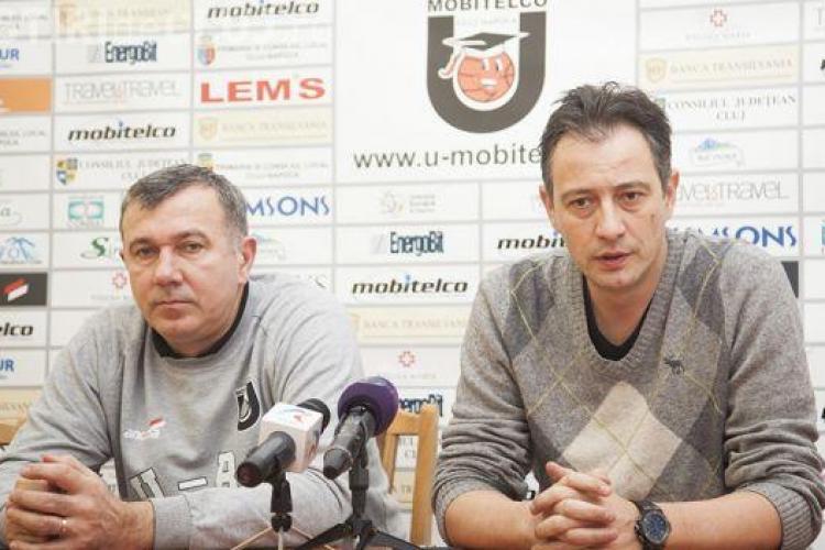 """Dorin Pintea speră să profite de a doua șansă la """"U"""" Mobitelco: """"Ne dorim foarte mult să câștigăm"""""""
