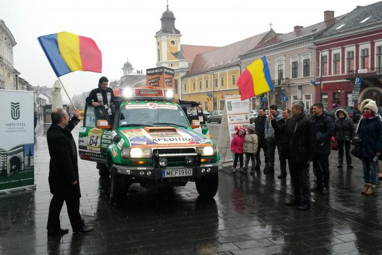 Echipa Transylvania 4 Africa a plecat de la Cluj spre Budapesta, iar apoi spre Africa - FOTO