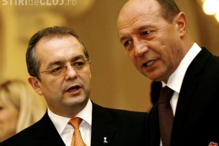 Ce a declarat Boc după întâlnirea cu Băsescu, de la Cluj
