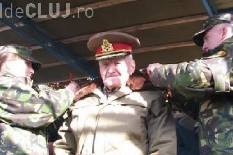 Un veteran de război din Dej, în vârstă de 101 ani, avansat în grad - VIDEO