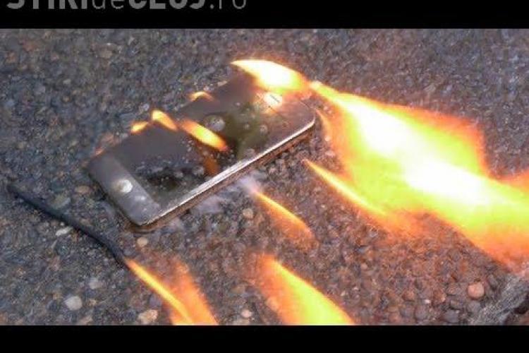 Momente de teroare pentru o adolescentă. A suferit arsuri de gradul 2 după ce i-a luat foc iPhone-ul