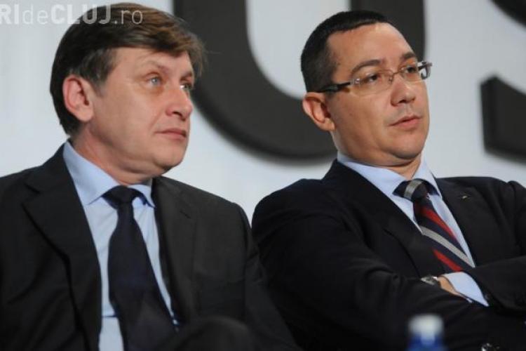 EȘEC în negocierile din USL. Ponta: Am propus formulă cu 4 vicepremieri