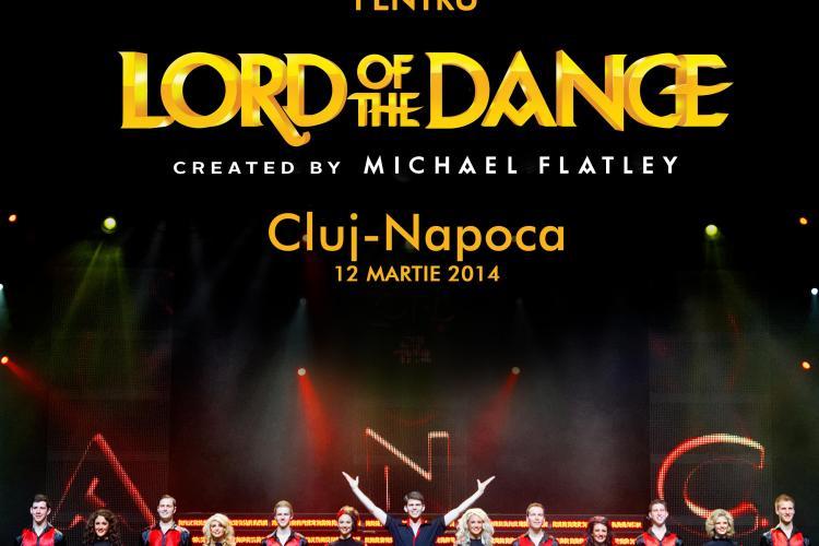 Se caută voluntari pentru Lord of The Dance. Vezi unde te poți înscrie(P)
