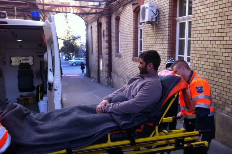 Medicul Ianceu, rănit în accidetul aviatic de la Cluj, a revenit la spital