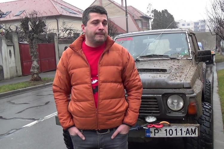 Accident AVIATIC la CLUJ! Unul dintre salvatorii de pe maşinile off road: Am fost trimişi pe coordonate greşite