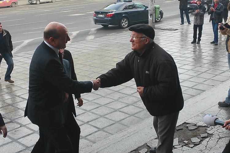 Băsescu s-a dus la Ciurila pentru a se întâlni cu primarii