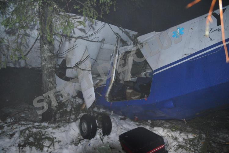 Avionul prăbușit la Cluj era defect. Pilotul Adrian Iovan ar fi cerut amânarea zborului