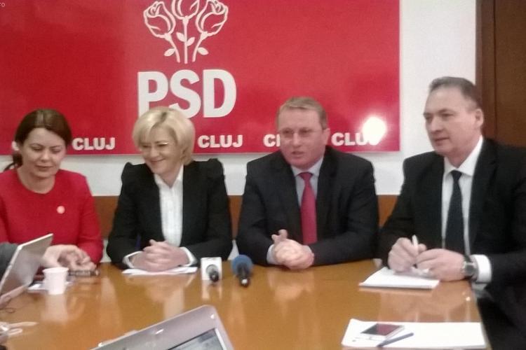 Corina Crețu, propunerea PSD Cluj pentru europarlamentare. Vezi care e lista completă a candidaților