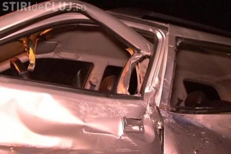 Accident pe strada Tache Ionescu! Trei mașini au fost avariate din cauza neacordării de prioritate