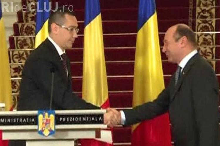 Grațierea lui Gigi Becali, motiv de ceartă între Ponta și Băsescu