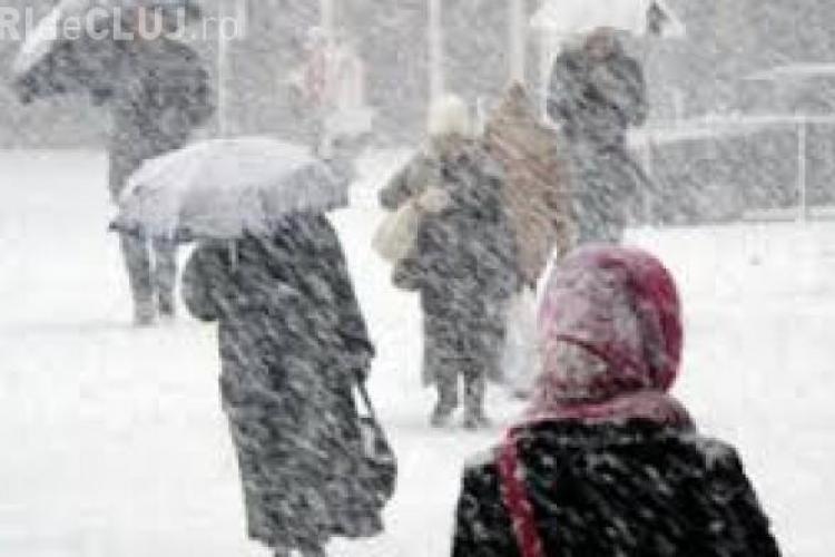 Iarna face ravagii în România. Șase județe se află sub COD ROȘU