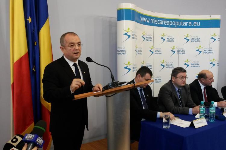 Cum răspunde Emil Boc cererii lui Blaga de a demisiona din PDL, după înscrierea în Fundația Mișcarea Populară