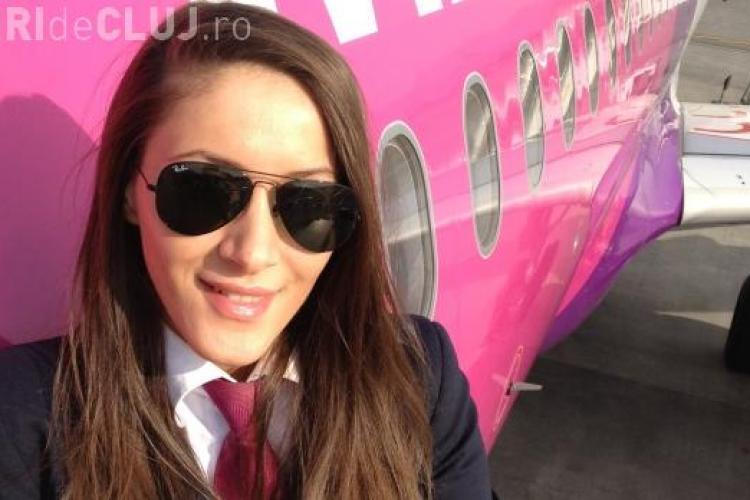 Ea e cea mai frumoasă femeie pilot din România - FOTO