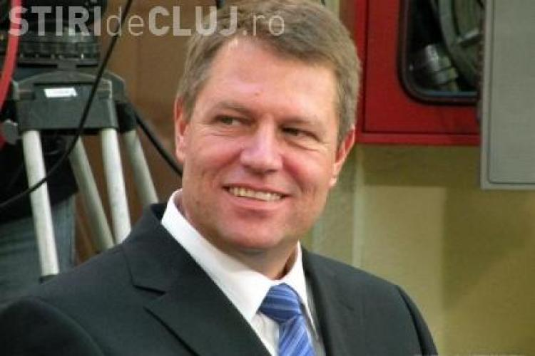 KLAUS IOHANNIS: Îmi dau DEMISIA din funcția de primar al Sibiului