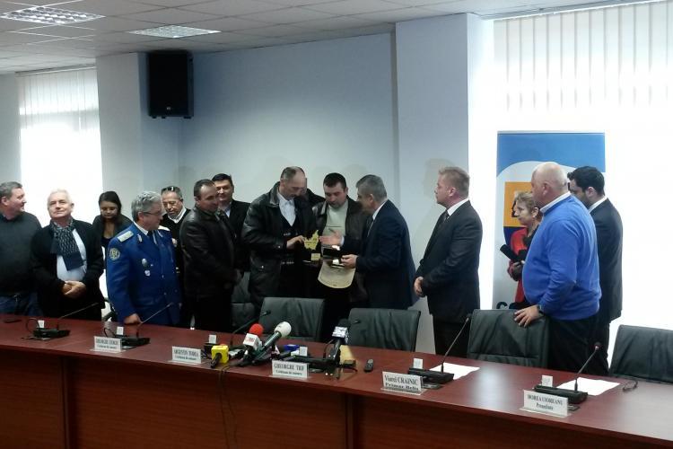 EROII din Munții Apuseni au fost premiați de Consiliul Județean Cluj - FOTO