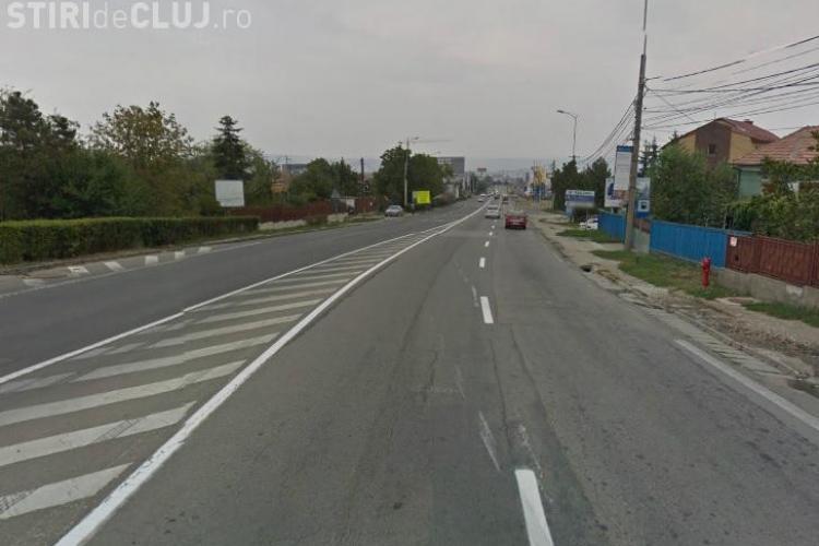 Calea Turzii va avea zonă mediană cu verdeață și iluminat public - VEZI PLANȘELE
