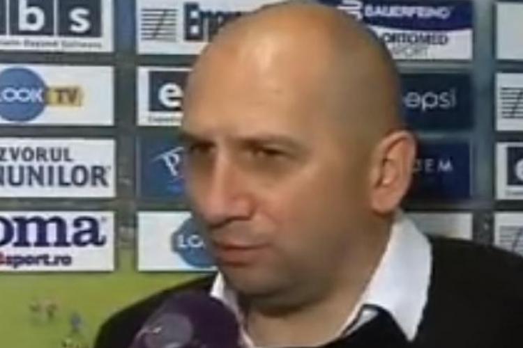 Miriuță dă vina pe arbitraj pentru eșecul cu FC Vaslui