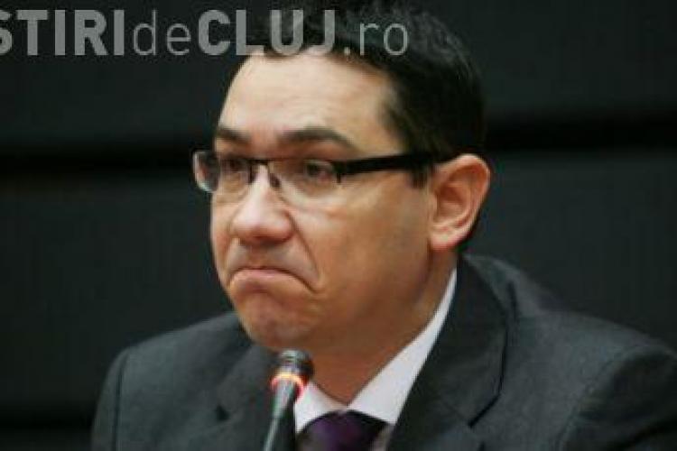 Ponta a stabilit miniștrii interimari după destrămarea USL