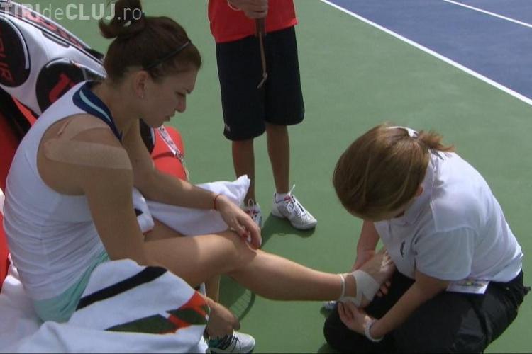 Simona Halep a abandonat turneul de la Dubai din cauza unei accidentări