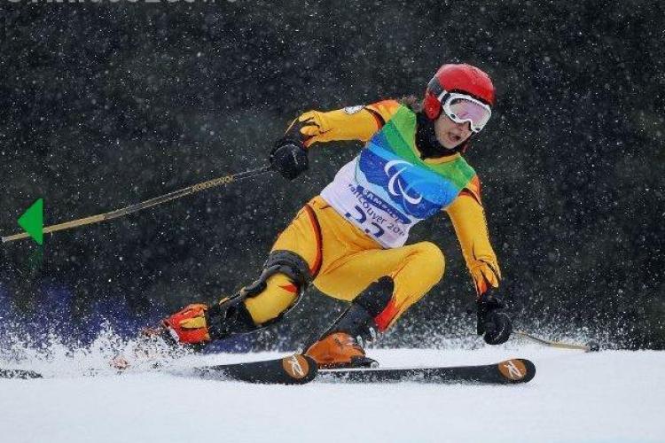 Membra unui club sportiv din Cluj s-a calificat la Jocurile Paralimpice de iarnă de la SOCI