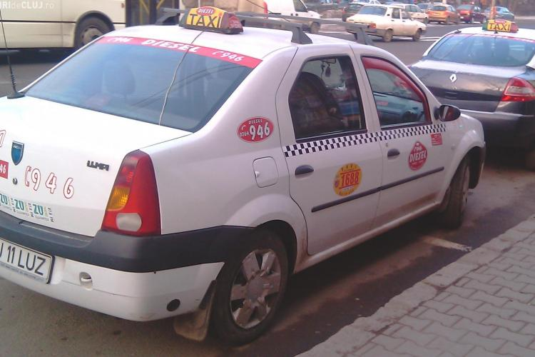 Toate firmele de taximetrie din Cluj-Napoca vor crește prețurile până în martie