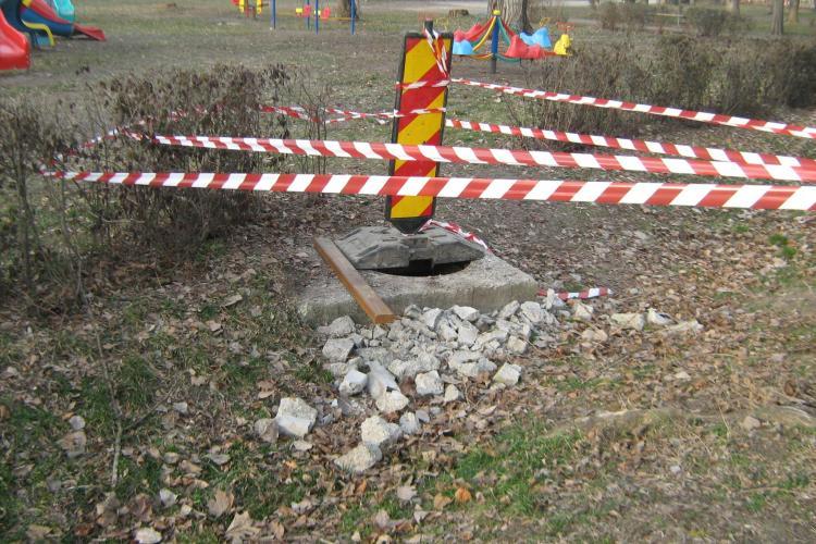 La Cluj se fură și capacele de canalizare: Au fost furate 22 de capace în trei săptămâni