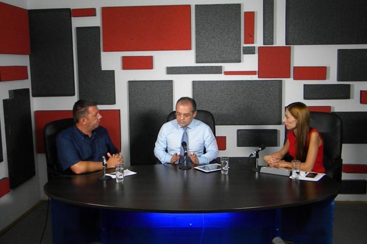 Emil Boc la emisiunea Ştiri de Cluj LIVE: Jumătate din centrul Clujului va fi asfaltat în acest an
