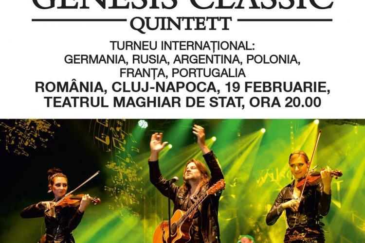 Genesis Classic în CONCERT la Cluj! Genesis Classic cântă în 19 februarie la Teatrul Maghiar