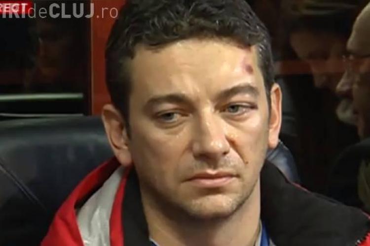 Medicul Radu Zamfir a venit la Cluj cu un avion de linie pentru a preleva un ficat