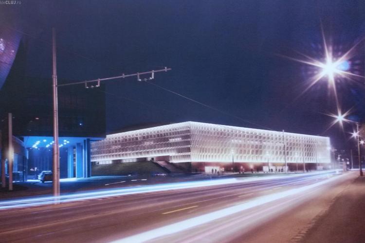 Sala Polivalentă din Cluj, în câteva planșe de EFECT! Așa va arăta construcția - FOTO