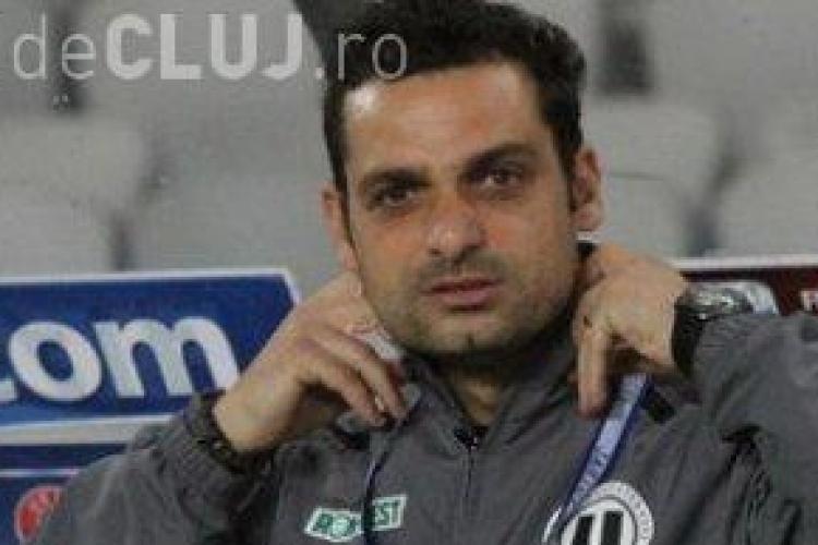 """""""U"""" Cluj joacă doar la victorie. Mihai Teja: """"Mergem să câștigăm"""""""
