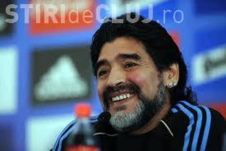 Veste surprinzătoare în fotbal. Maradona revine pe teren la 53 de ani