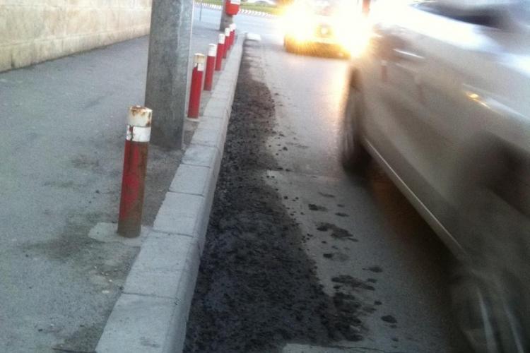 Noroi pe strada Albini ca pe ulițele de la țară. Brantner Vereș își decontează serviciile - VIDEO