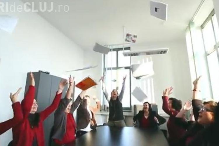 Studenții maghiari din Cluj sunt HAPPY. Un nou clip din seria Happy în Cluj a apărut pe internet VIDEO