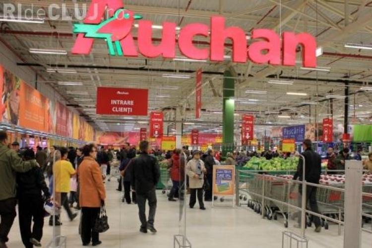 Auchan face angajări la Cluj! Ce salarii oferă